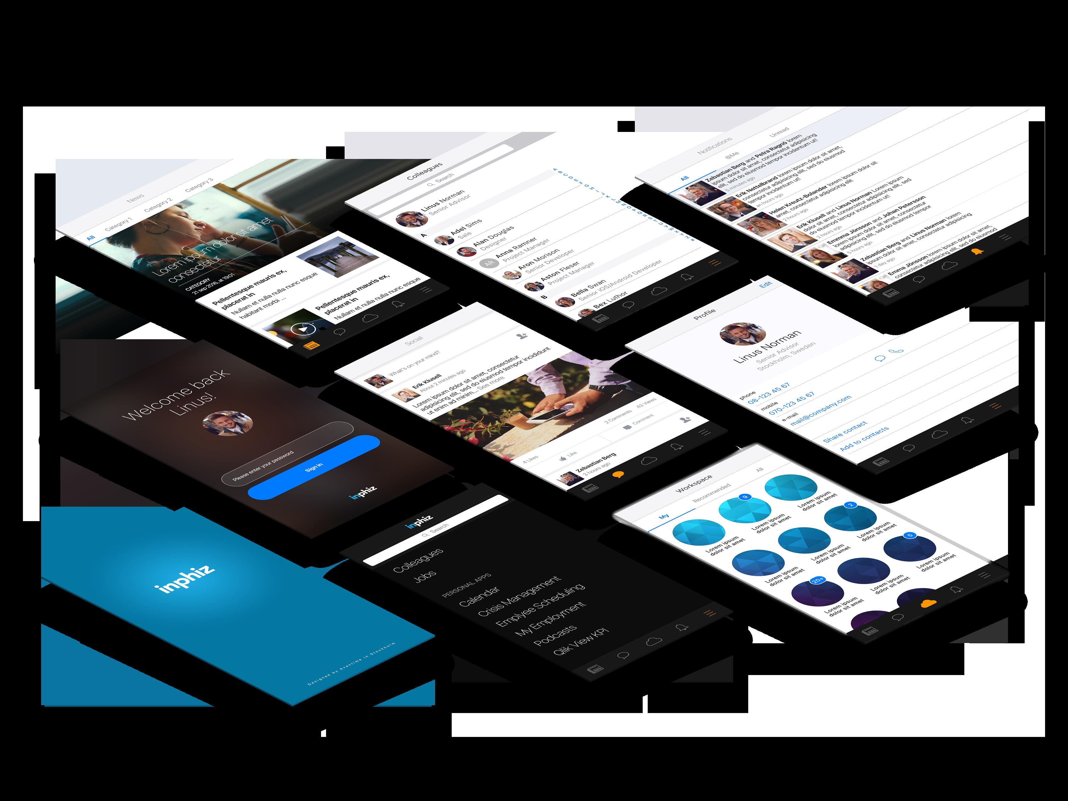 01. Perspective App Screens Mock-Up